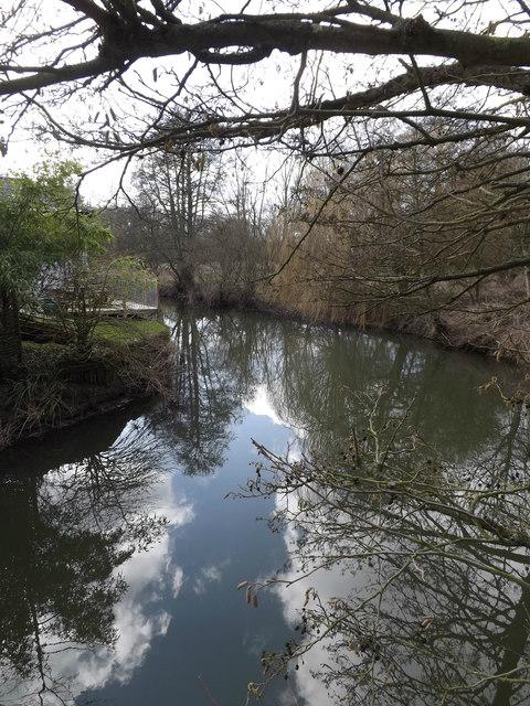 River off Mill Lane