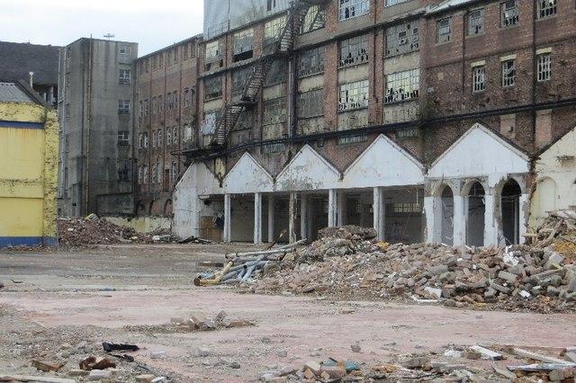 Demolition, Milnpark Street