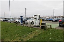 NS5566 : Electric car charging point by Richard Webb