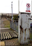 SS8591 : Special telephone - not for 999 calls -  at Maesteg railway station by Jaggery