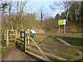SJ5782 : Entrance to Daresbury Firs by Raymond Knapman