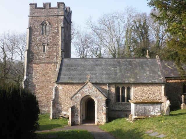 All Saints Church, Aisholt