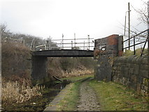 SD7909 : Bridge 20 Manchester Bolton & Bury Canal by John Slater