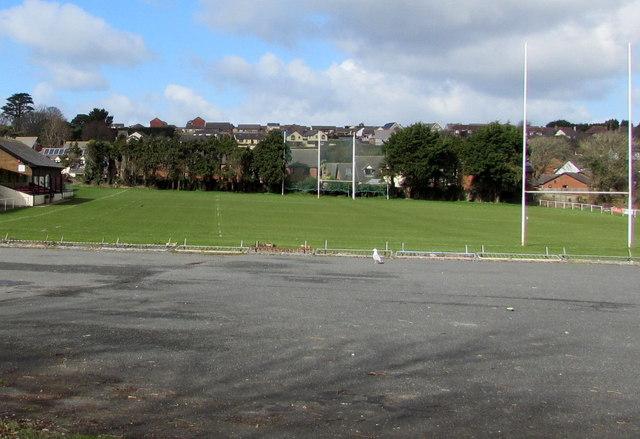 Rugby pitch, Pembroke Dock