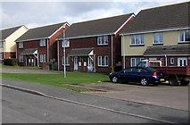 SM9703 : Charles Thomas Avenue houses, Pembroke Dock by Jaggery