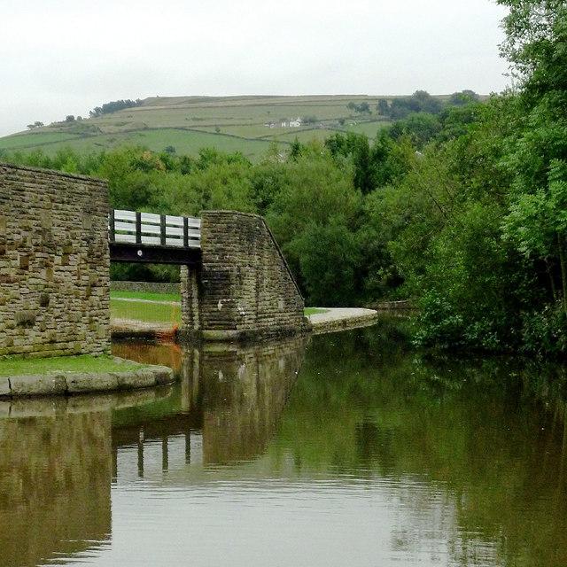 Bugsworth Basin north-east of Whaley Bridge, Derbyshire