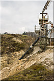 TQ2250 : Sand processing plant by Ian Capper
