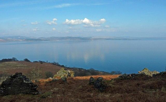Farmstead, Altagalvash township, Kintyre, Argyll