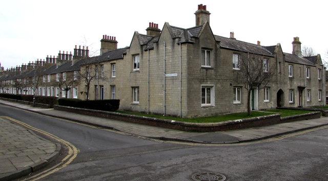 Corner of Bathampton Street and Church Place, Swindon