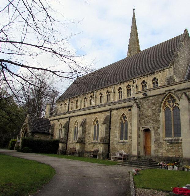South side of St Mark's Church, Swindon