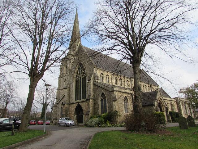 SW corner of St Mark's Church, Swindon