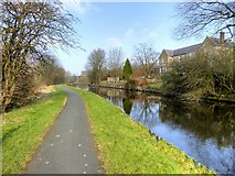 SD8537 : Leeds and Liverpool Canal, Lomeshaye by David Dixon