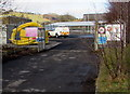 ST2999 : Entrance to a Wales & West Utilities site, Pontypool by Jaggery