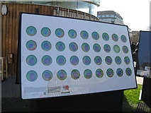 NT2574 : The hole in the ozone layer - 1979-2014 by M J Richardson