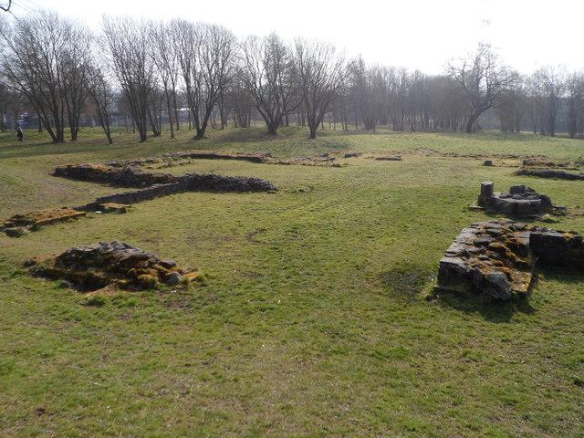 Ruins of Hulton Abbey