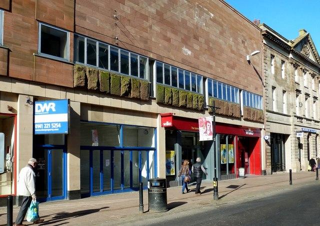 Changes On Ayr High Street