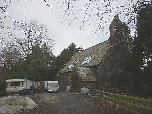 Church being converted, Blawith