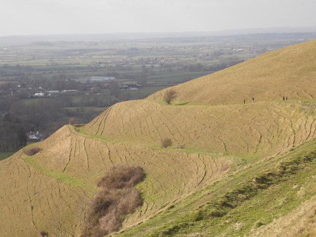 Child Okeford: western slopes of Hambledon Hill