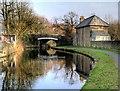 SD8537 : Leeds and Liverpool Canal, Lomeshaye Bridge by David Dixon