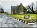 SD8131 : Burnley Cemetery, Chapel and Hapton Valley Pit Memorial by David Dixon