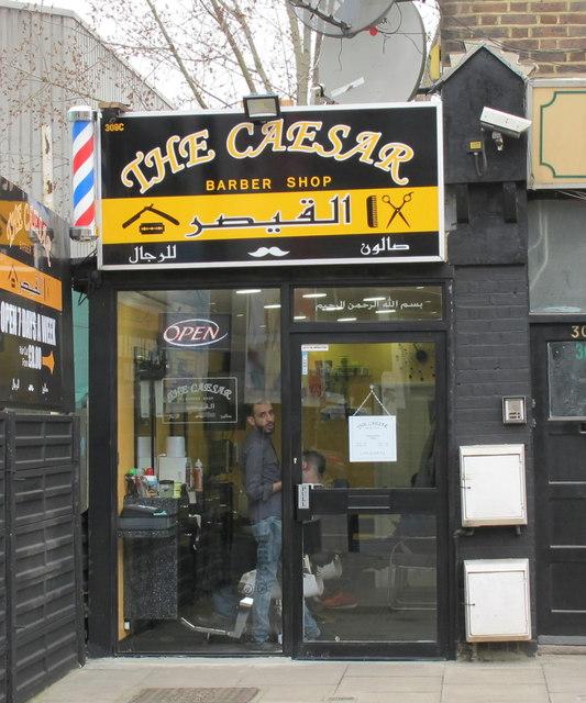Barber's shop, Horn Lane, North Acton