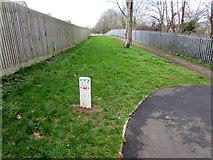 SM9703 : No Dig Zone marker, Pembroke Dock by Jaggery