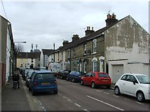 TQ7369 : Grange Road, Strood by Chris Whippet