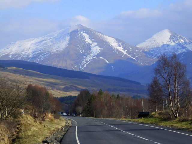 On the A82, near Dalrigh