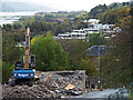NS3274 : Bouverie Street demolition by Thomas Nugent
