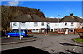 ST1281 : Houses built in 1947, Morganstown, Cardiff by Jaggery