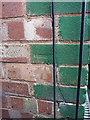 SP1584 : OS benchmark - Sheldon, 231 Church Lane by Richard Law