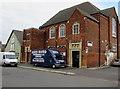 SU1484 : Old School and van, Maxwell Street, Swindon by Jaggery