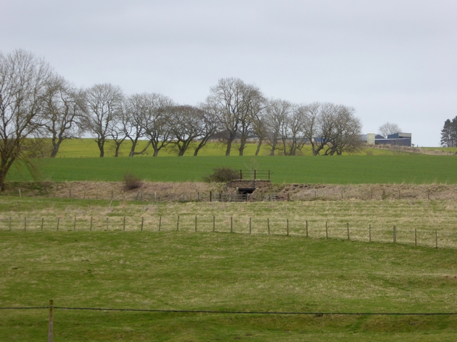 Old railway line at Middleton