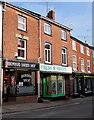 SO6554 : Bromyard Barber Shop, Bromyard by Jaggery