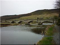 SE0361 : Burnsall Bridge by Carroll Pierce