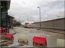 SJ9495 : Bus Station refurbishment by Gerald England