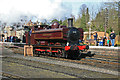 SO7192 : Bridgnorth Station - a long way from London by Chris Allen