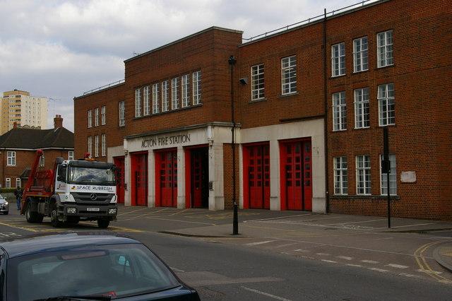 Acton Fire Station, Gunnersbury Lane