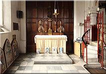 TQ2976 : Christ Church, Union Grove - North chapel by John Salmon
