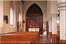 TQ2976 : Christ Church, Union Grove - North aisle by John Salmon