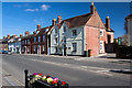 SU0000 : West Borough, Wimborne, east side by Mike Searle