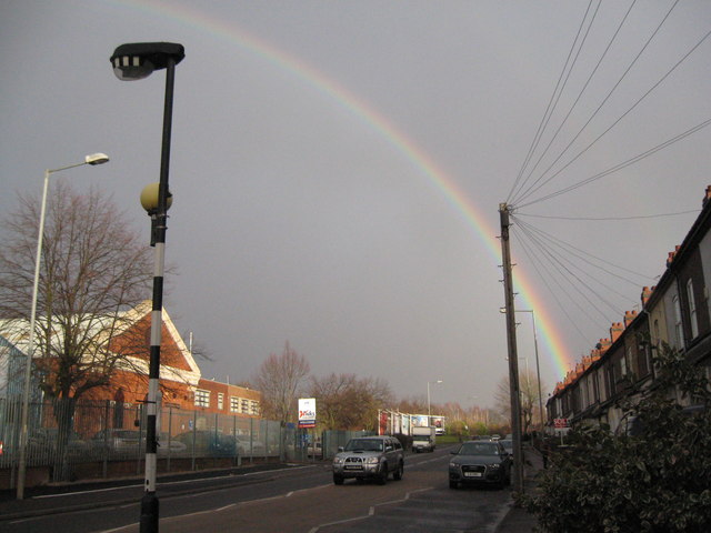 Under the rainbow 1-Walsall, West Midlands