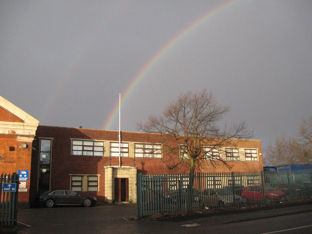 Under the rainbow 2-Walsall, West Midlands