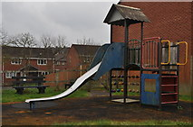SS9612 : Tiverton : Halsbury Road Play Park by Lewis Clarke