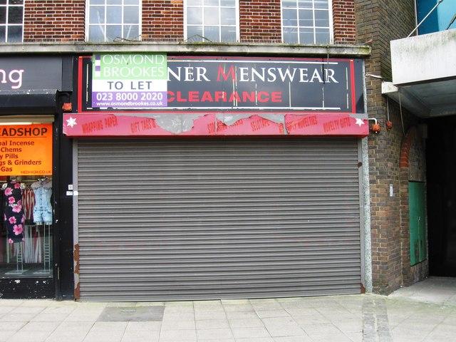 Closed shop, Highstreet