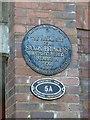 SP9011 : Plaque on Saxon Way Bridge by Rob Farrow