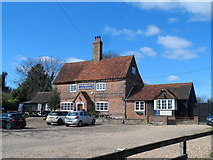 SU8499 : King William IV pub, Speen by Bikeboy