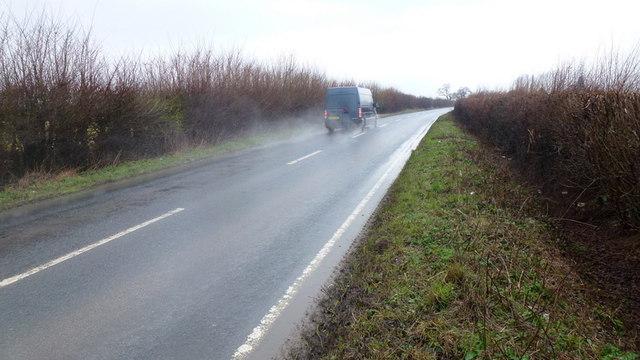 A4095 towards Witney