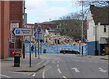 SK5804 : York Road in Leicester by Mat Fascione