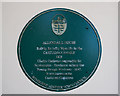 SU0100 : No. 6 (of 12) the Green Plaques of Wimborne - Allendale House by Mike Searle